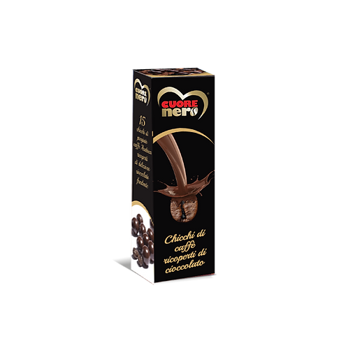Chicchi di caffè ricoperti di cioccolato