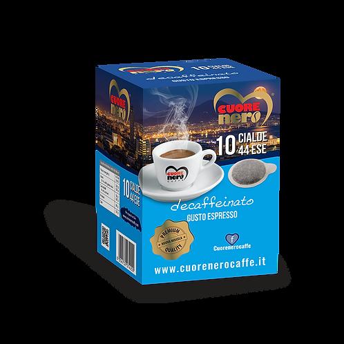 Cialde Caffè Decaffeinato 10 pz