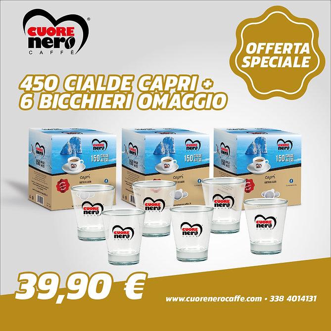 Promo 450 Capri + bicchieri 39,90_Tavola