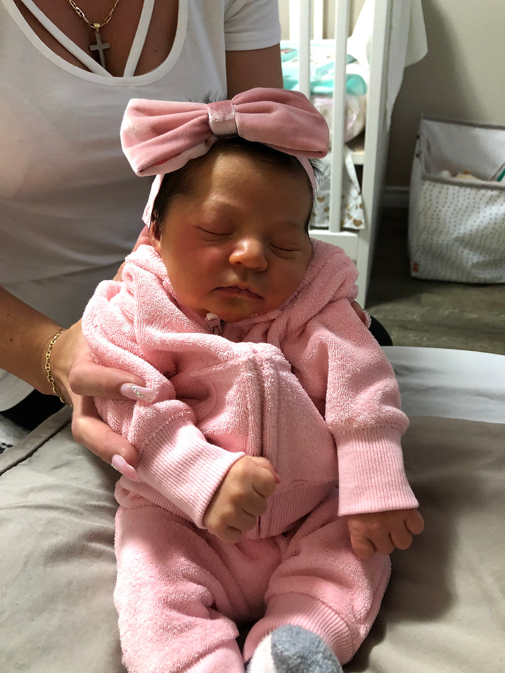 baby girl, pink, young mom, things i wish i packed in my hospital bag, baby girl outfits