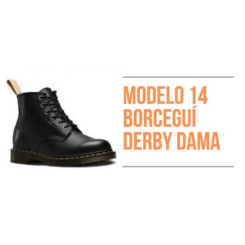 Modelo 14 - Borceguí Derby Dama