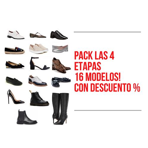 Pack Especial | Las 4 Etapas | 16 Modelos