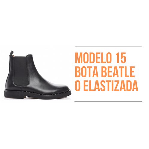 Modelo 15 - Bota Beatle o Elastizada