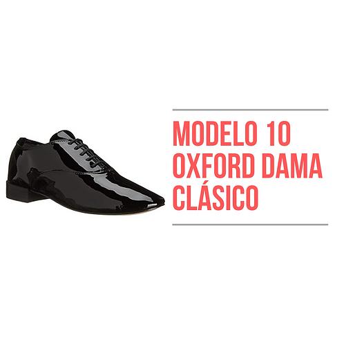 Modelo 10 - Oxford Dama Clásico