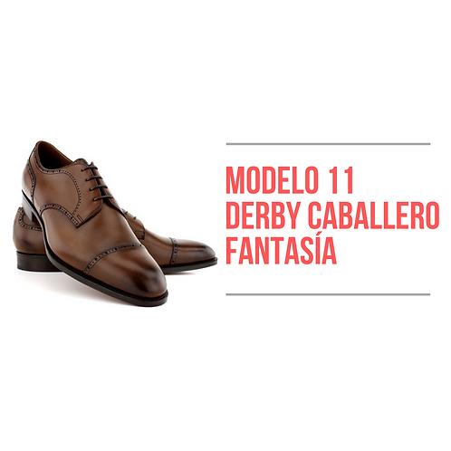 Modelo 11 - Derby Caballero Fantasía