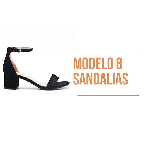 Modelo 8 - Sandalia