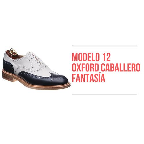 Modelo 12 - Oxford Caballero Fantasía