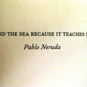 Poets words flow like el río.