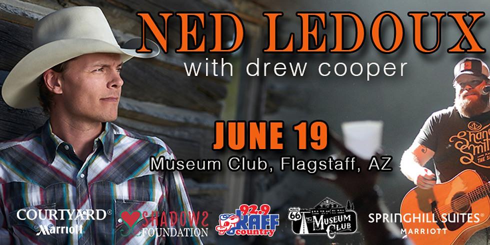 Ned Ledoux with Drew Cooper