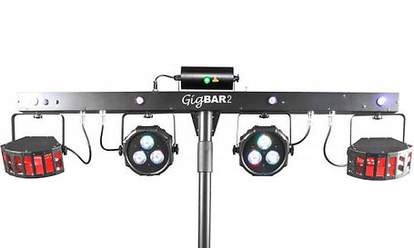 JukeKaboom GigBAR 2 DJ Light Hire close