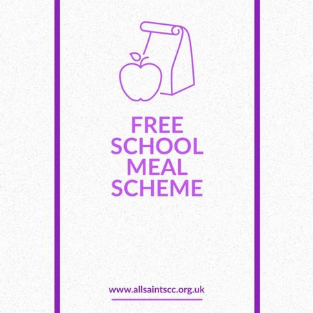 Free School Meals Scheme Update