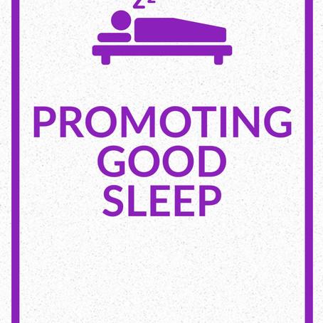Promoting Good Sleep During the Coronavirus Pandemic