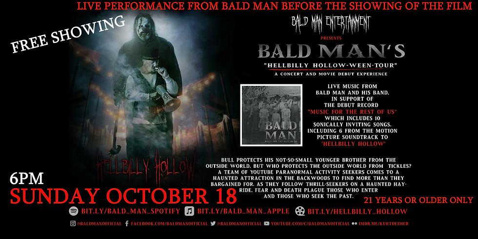 Bald Man Live!!!