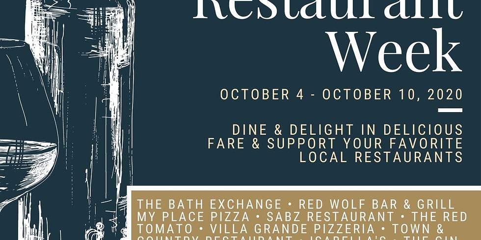 Bath Area Restaurant Week