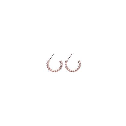 Triple Twisted Hoop Earrings