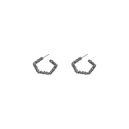 Teina Textured Drop Earrings