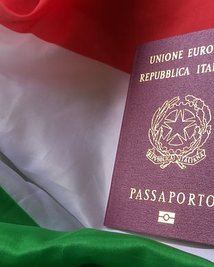 Italian European Passport on Italy Count
