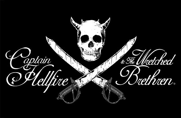 pirate band captain hellfire logo