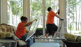 Porch enclosure cleaning eze breeze a pl