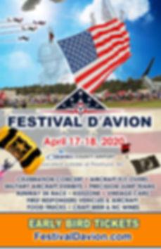 FD 2020 CFH Festival DAvion Event Poster