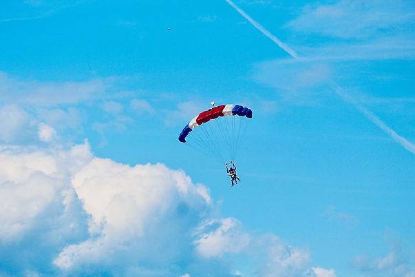 Skydiving Raffle Ticket Patriot Games We