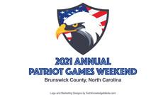 Patriot Games Weekend Logo Design