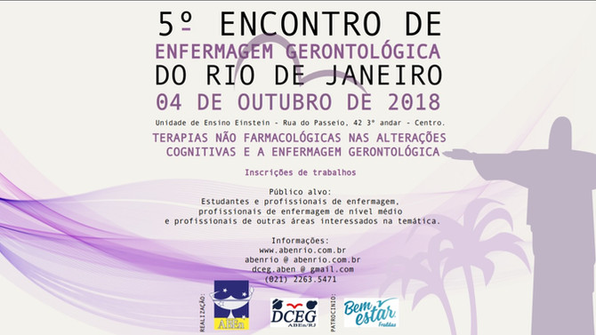 5° Encontro de Enfermagem Gerontológica do Rio de Janeiro