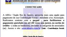 Comunicado ABEn/RJ
