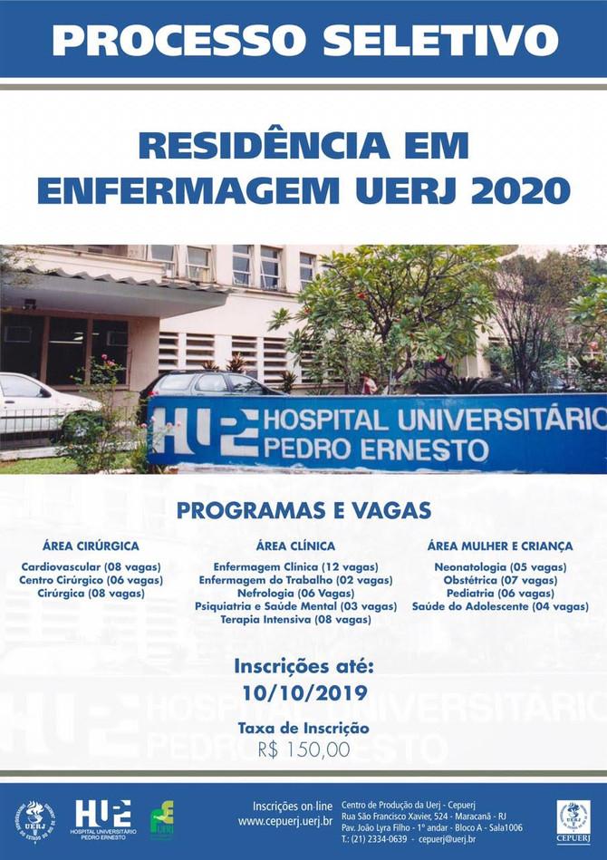Residência em Enfermagem - UERJ 2020