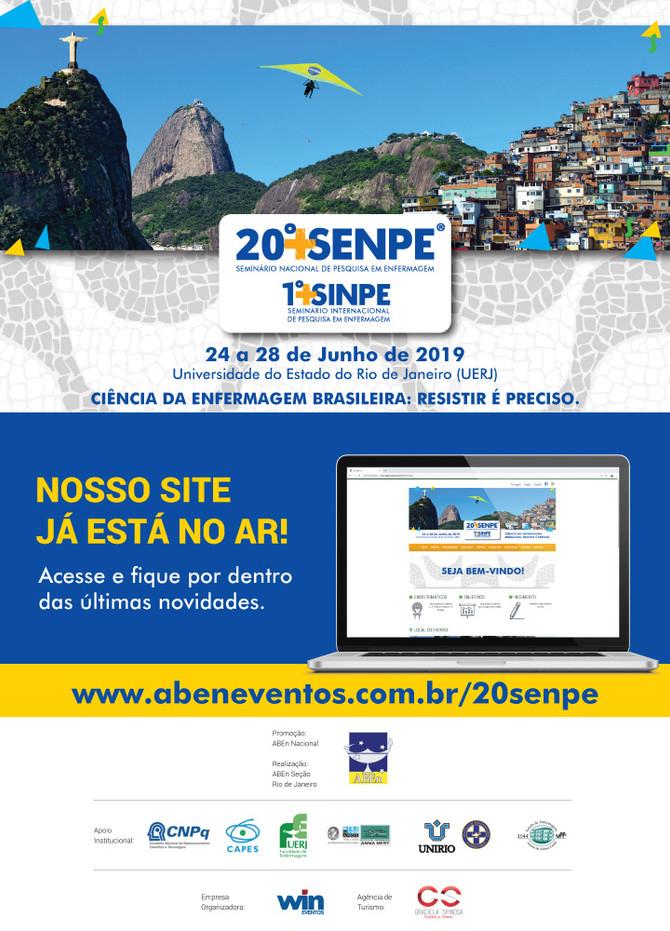 20º SENPE - Site já está no ar!