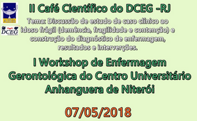 II Café Científico do Departamento Científico de Enfermagem Gerontológica