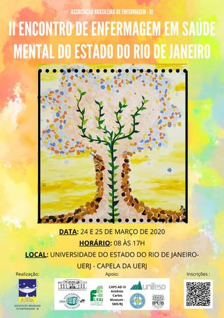 II Encontro Estadual de Enfermagem em Saúde Mental do Estado do Rio de Janeiro