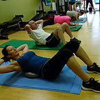 group personal training abs