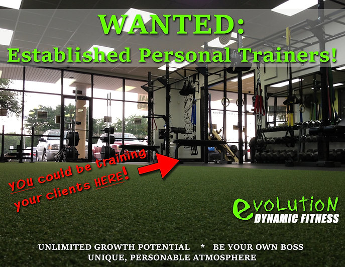 personal trainers wanted hiring