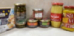 Various savory products