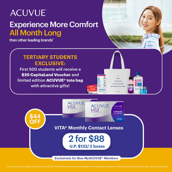 Acuvue x TPSU