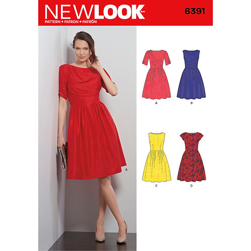 New Look Sewing Pattern 6370 Dress Pattern