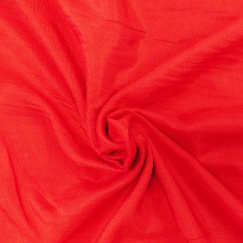 Organic Cotton T-shirt Knit Red