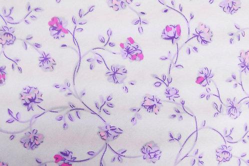 Lavender Floral Kashibo Print Fuschia and Lilac floral