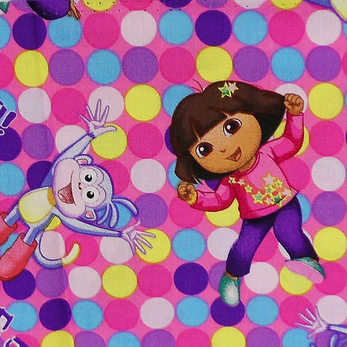 Dora The Explorer Print 100 percent cotton fabric