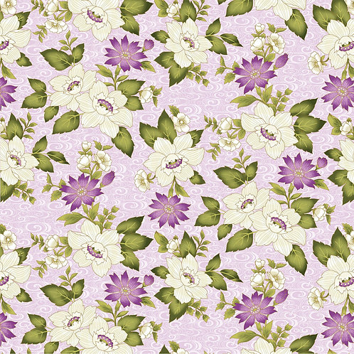 Quilting Sewing Cotton Fabric Floral