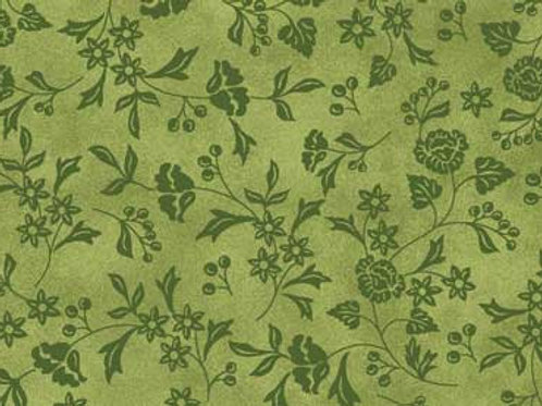 Baltimore Spring Quilting Sewing Cotton Fabric Green Floral