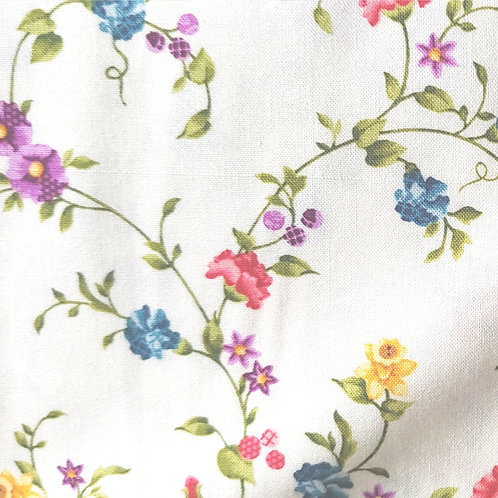 Baltimore Spring Quilting Sewing Cotton Fabric Multi Floral