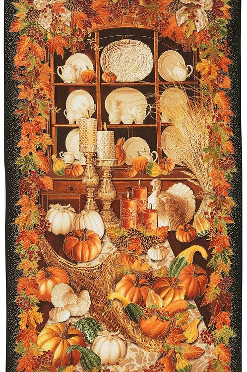Harvest of Plenty Quilt, Wall-Hanging, Decor Panel