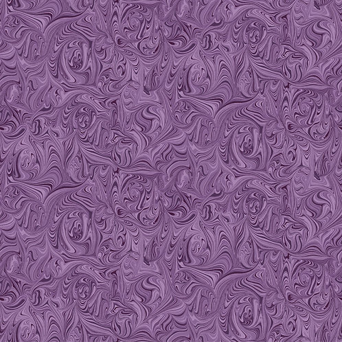 Quilting Sewing Cotton Fabric Swirl Pattern