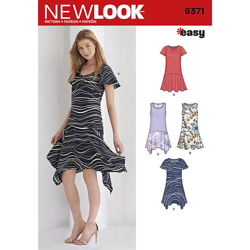 New Look Sewing Pattern 6371 Dress Pattern