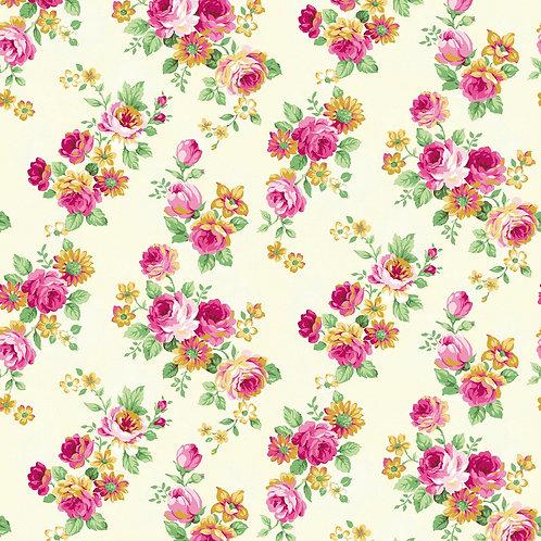 Cotton Fabric Floral Print