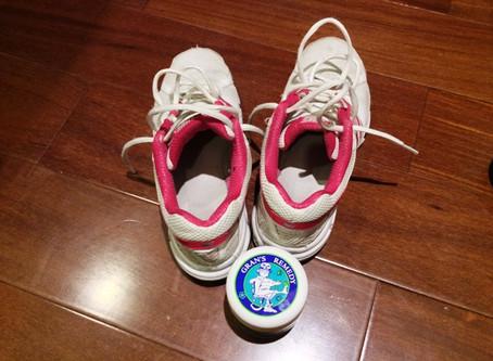 靴と靴下の匂いを消すすごい商品です ブリーズブロンズ グランズレメディ