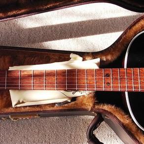 SUMIギター L-00新岡ギター教室モデル オプション例 その3 コンター加工