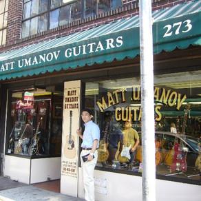 NYのビンテージギターショップ訪問しました。